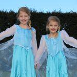 Princesses Mia and Gracie aged 9 & 7